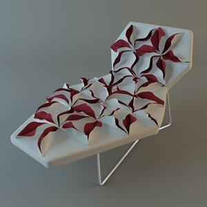 max antibodi moroso flower chair