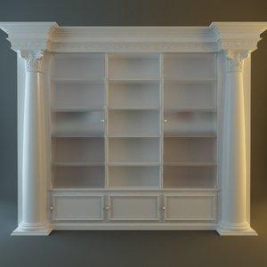 cabinet details 3d max