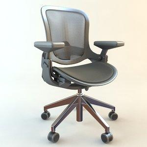 office armchair 3d model