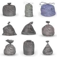 garbage bags 3d 3ds