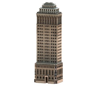 3d model heckshaker building