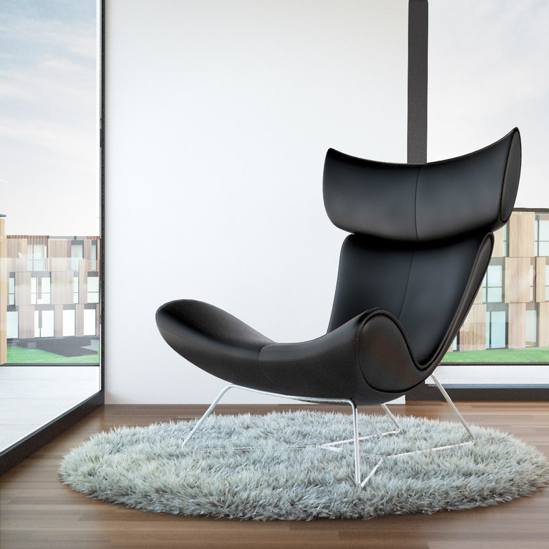 3ds max boconcept imola armchair. Black Bedroom Furniture Sets. Home Design Ideas