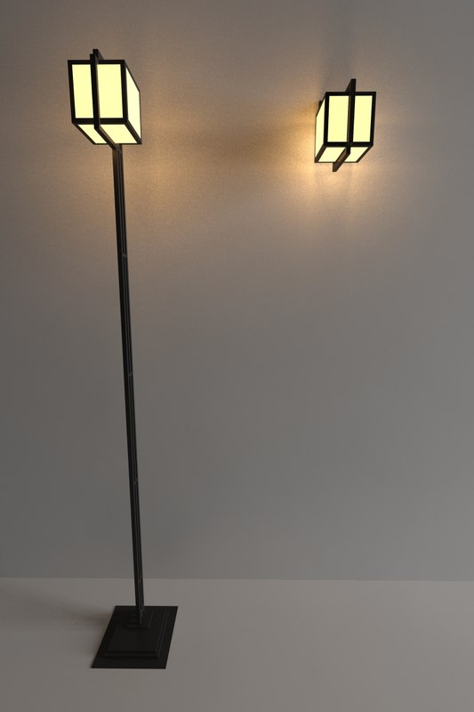3d model yamagiwa storer lamp