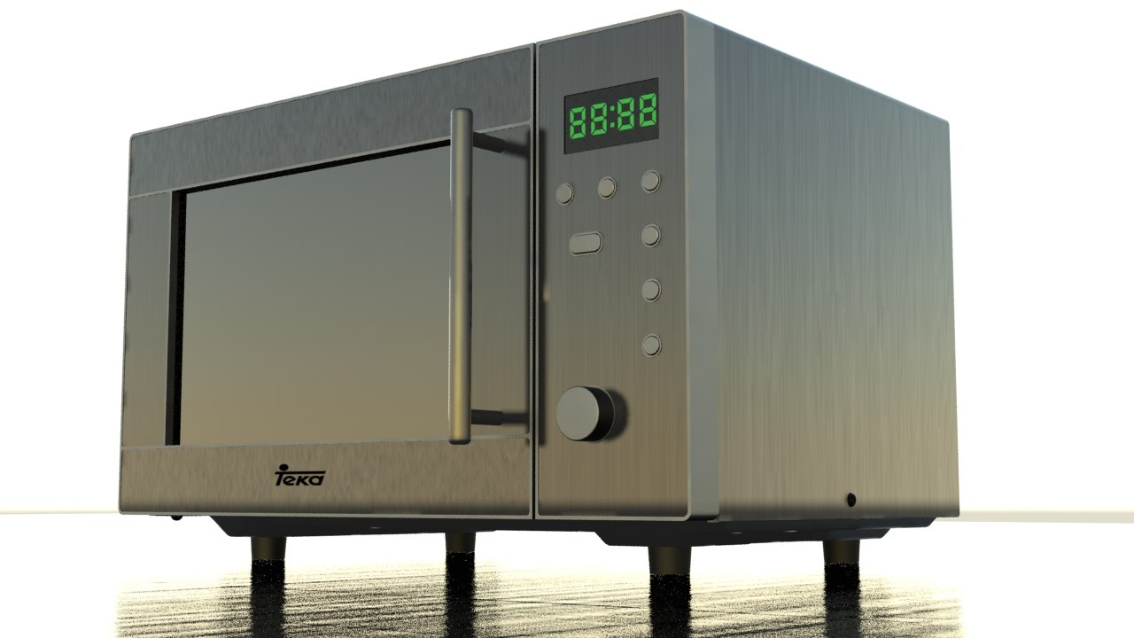max realistic microwave