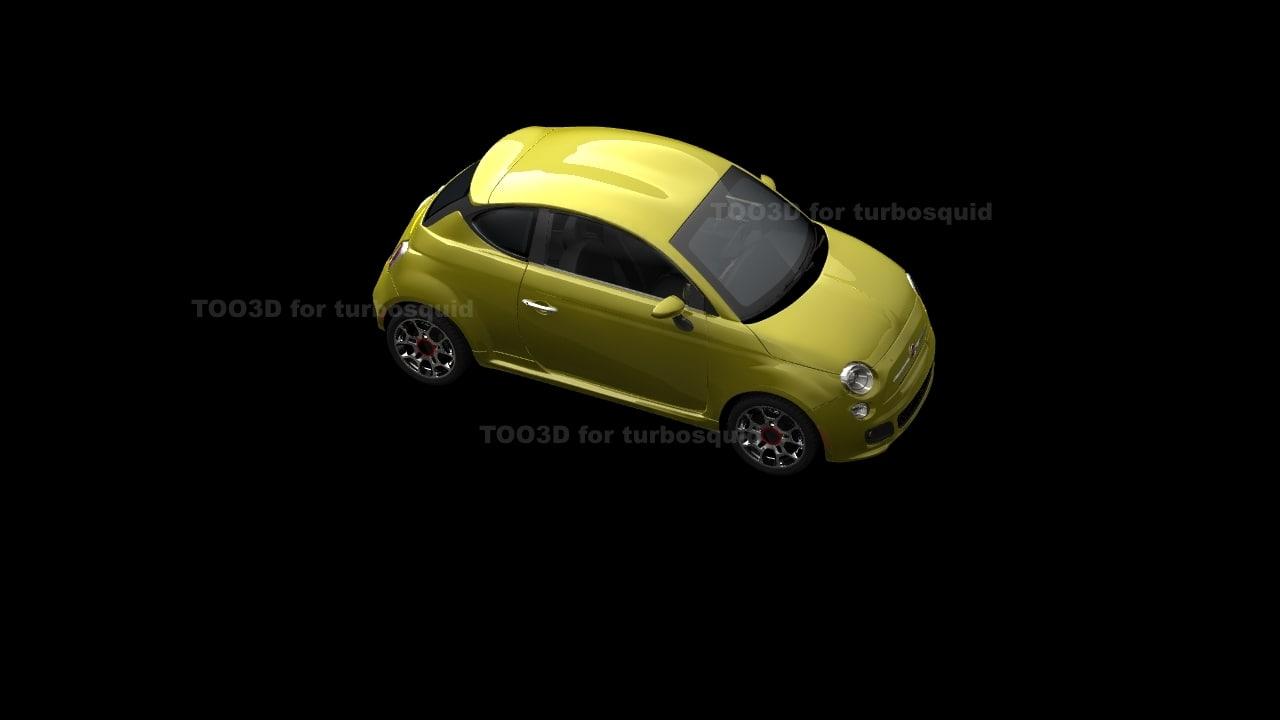 3d coupe zagato model