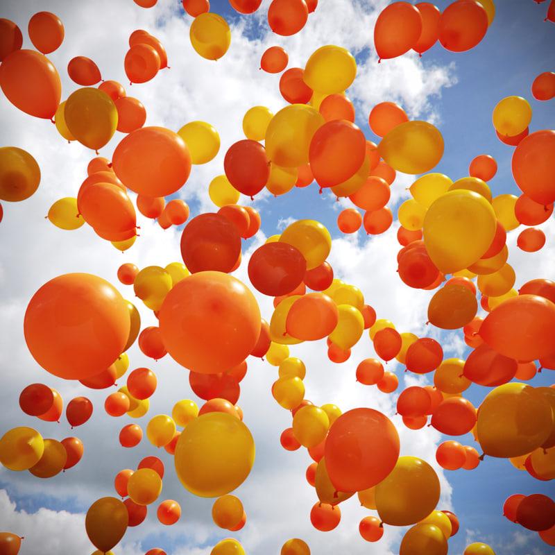 free max model shader balloon materials