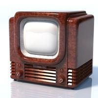 Bush tv22 1950 retro vintage lamp tube tv set television receiver antique