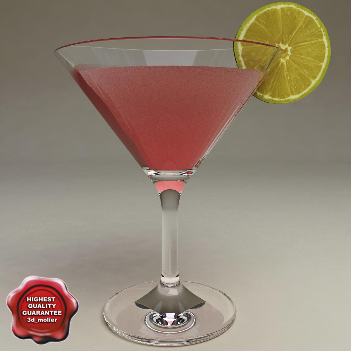 3d model cocktail v4