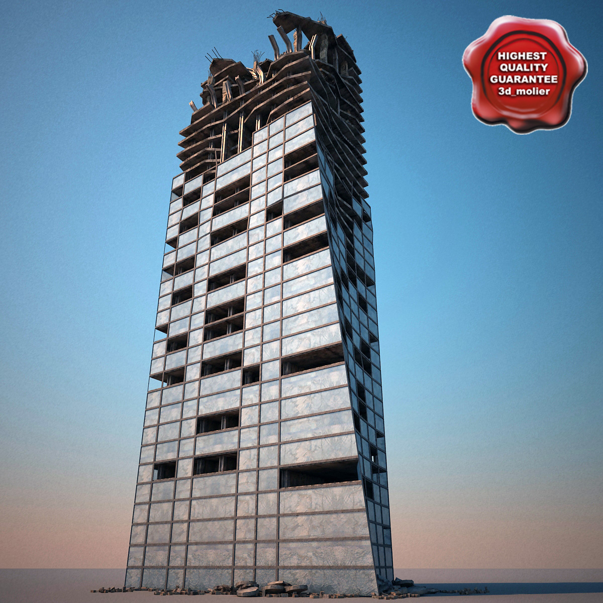 destroyed skyscraper max