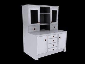3d model dresser bedrooms