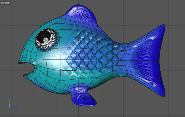 free c4d mode fish
