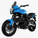 Kawasaki Versys 3D models