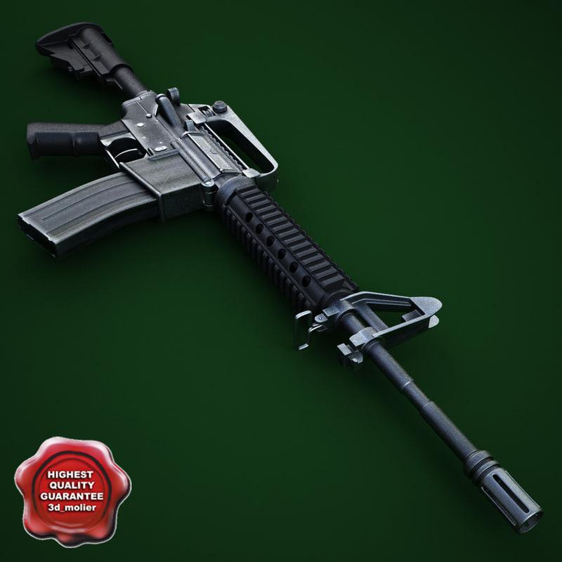 3ds max m4 carbine