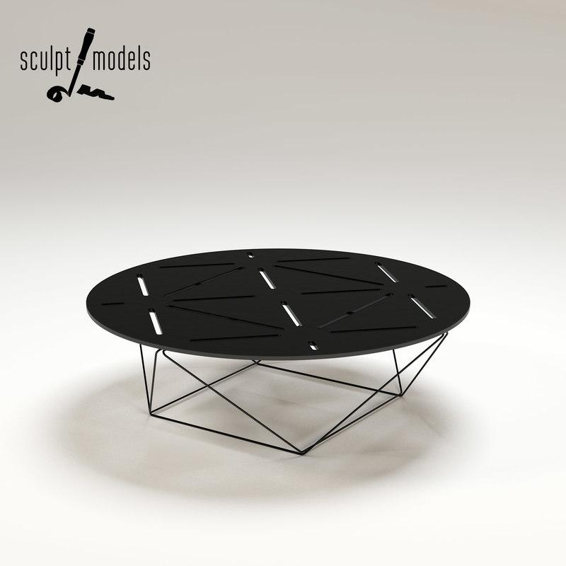 3ds max joco coffee table