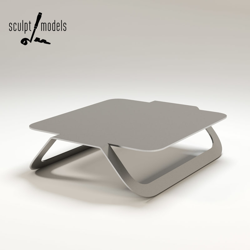 3d model parentheses coffee table r
