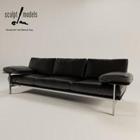 3d b italia deisis sofa model