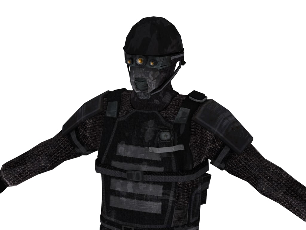 3d next-gen soldier model