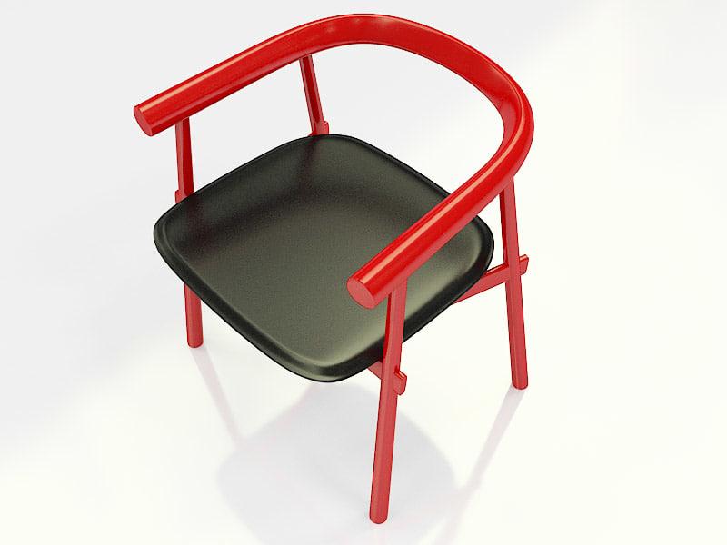 artelano chair ta32 3d model