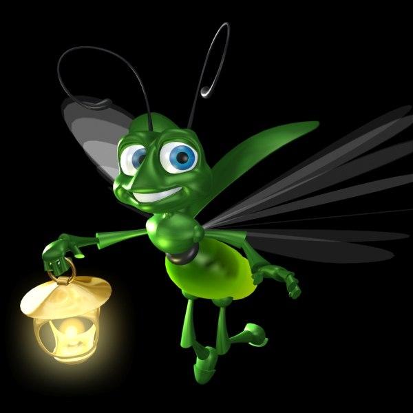 max cartoon firefly