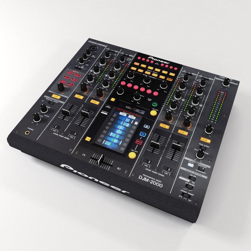 maya pioneer djm2000 mixer