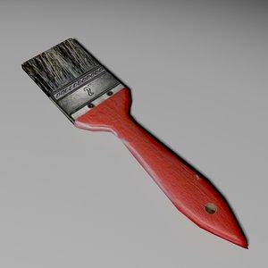 3ds paintbrush brush paint