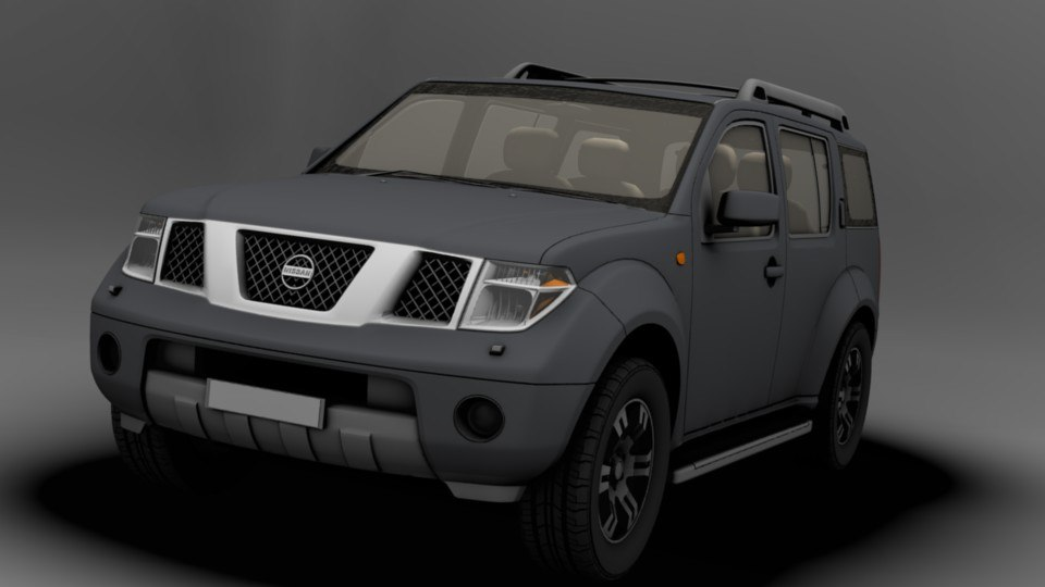 obj accurate nissan pathfinder