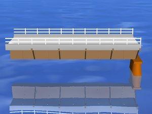 free friends bridges keys 3d model
