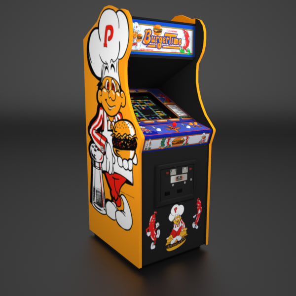 arcade real time 3d model