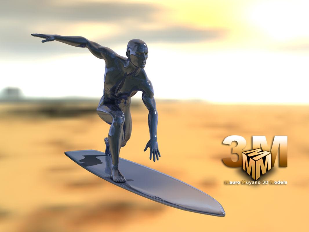 max silver surfer