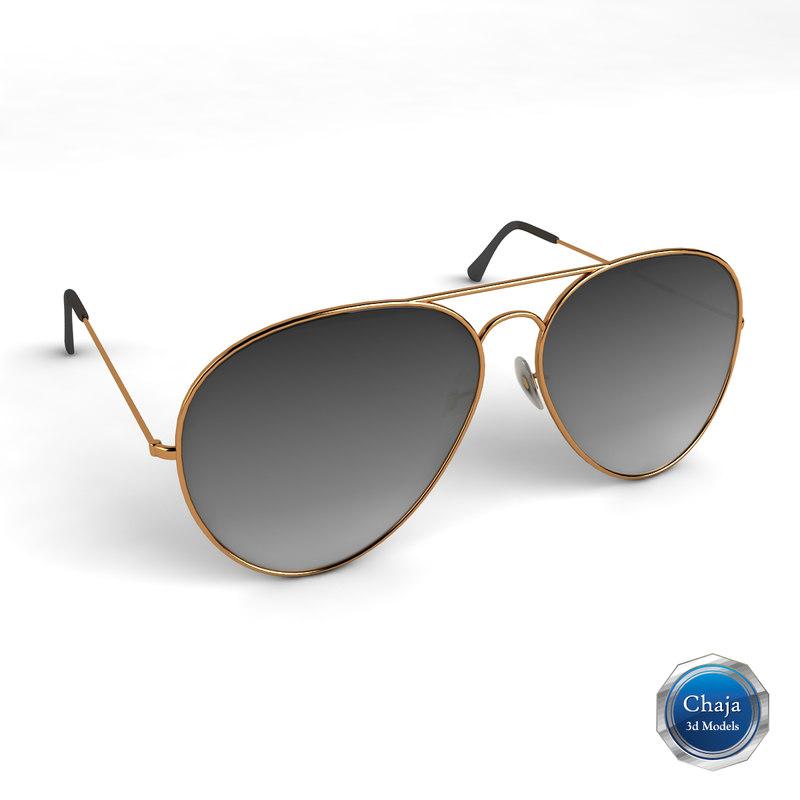 3d max sunglasses glasses sun