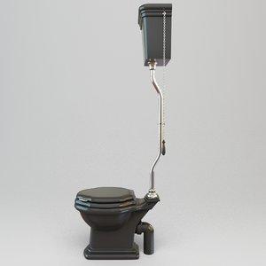 toilet tank 3d model