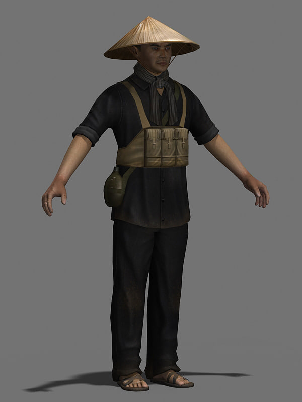 3d model of character