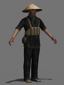 3d model of character