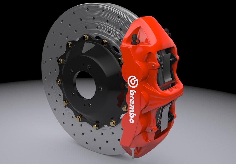 brembo brake disc 3d model