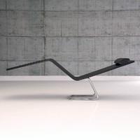 mvs chaise 3d model