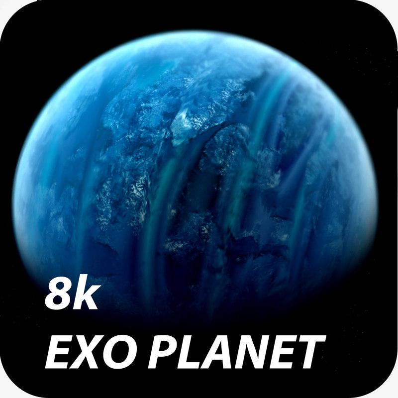 3d exo planet