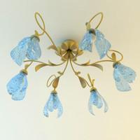 chandelier details 3ds