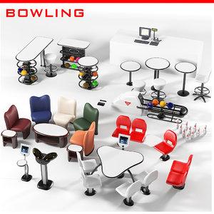 amf qubica bowling 3d max