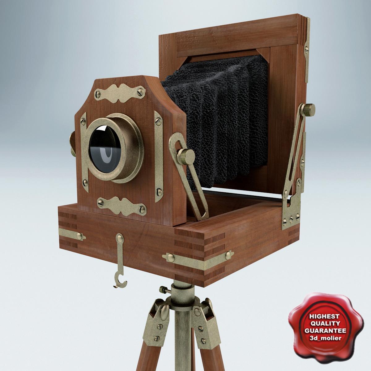 3d antique camera v2