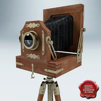 3d antique camera v2