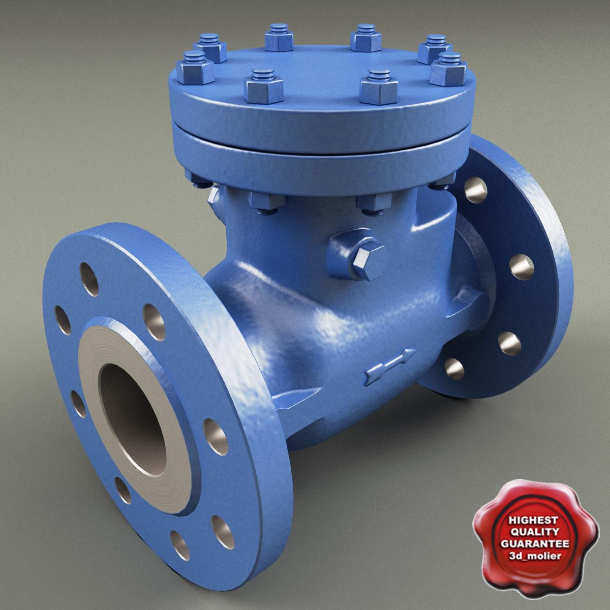 c4d check valve