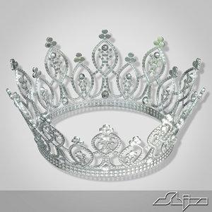 crown princess 3d max