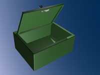 3d aid cabinet model