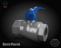 gate valve 3ds
