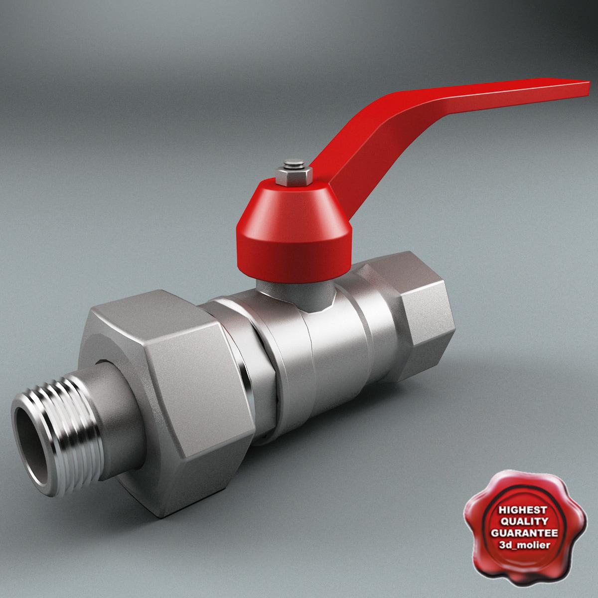 3d model gate valve v6