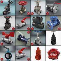 Gate Valves Collection V6