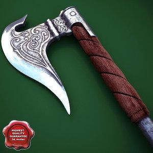 maya medieval axe v5