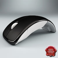 microsoft arc mouse 3d 3ds