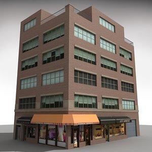 nyc building 3d model