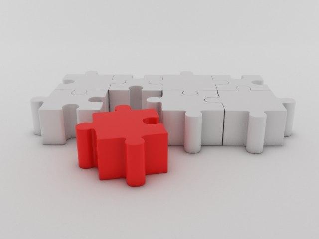3d model puzzle